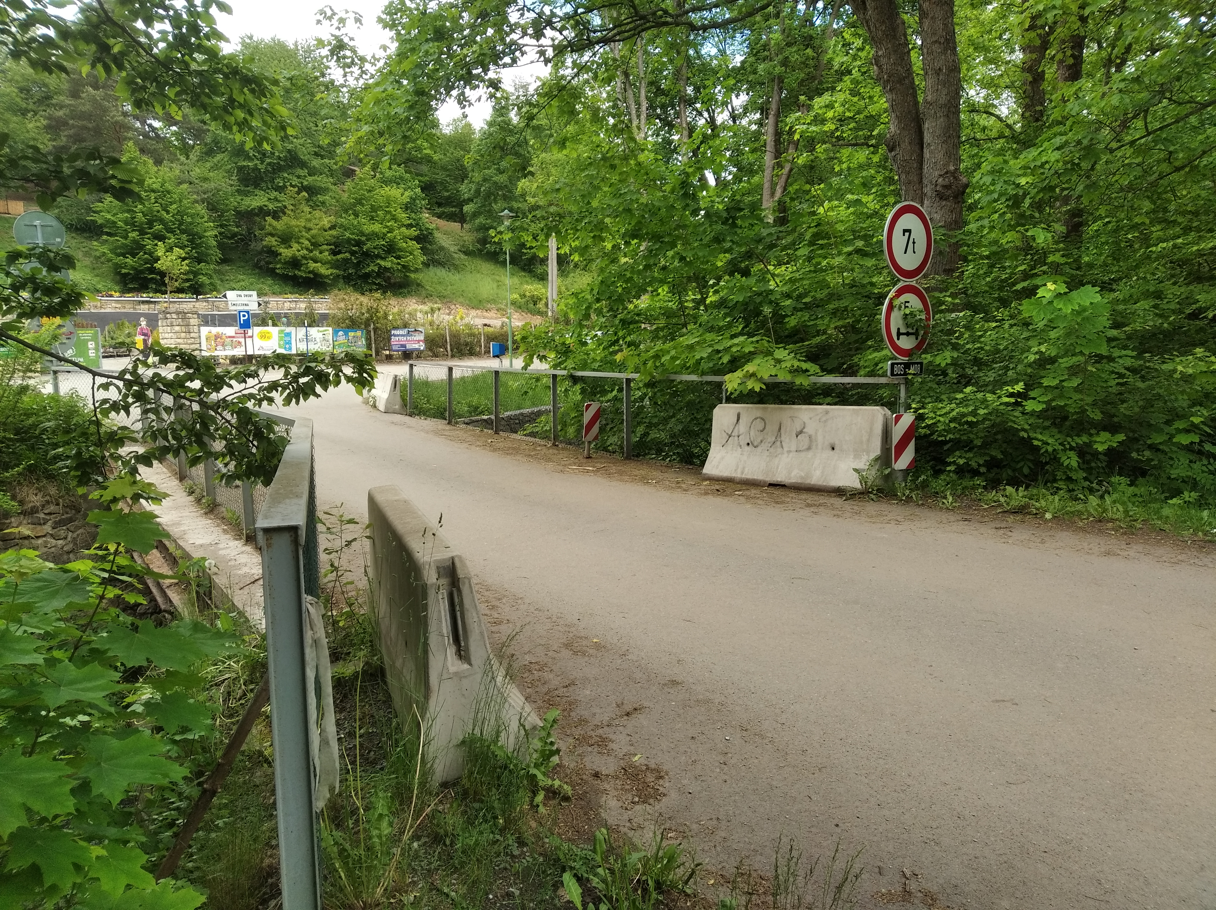 V nejhorším stavu je most u Šmelcovny