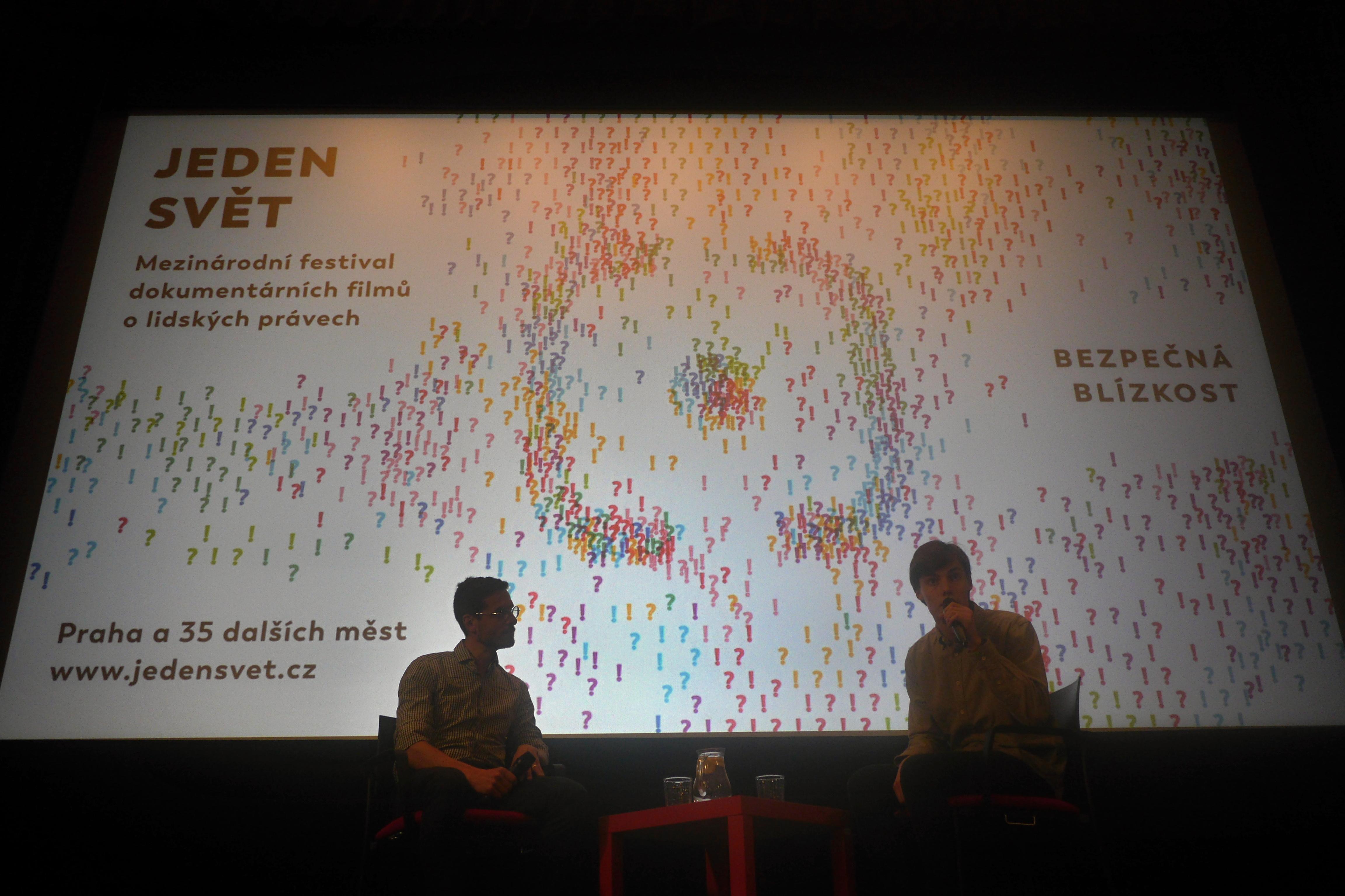 Hostem debaty na téma dezinformací byl František Trojan z projektu zvolsi.info