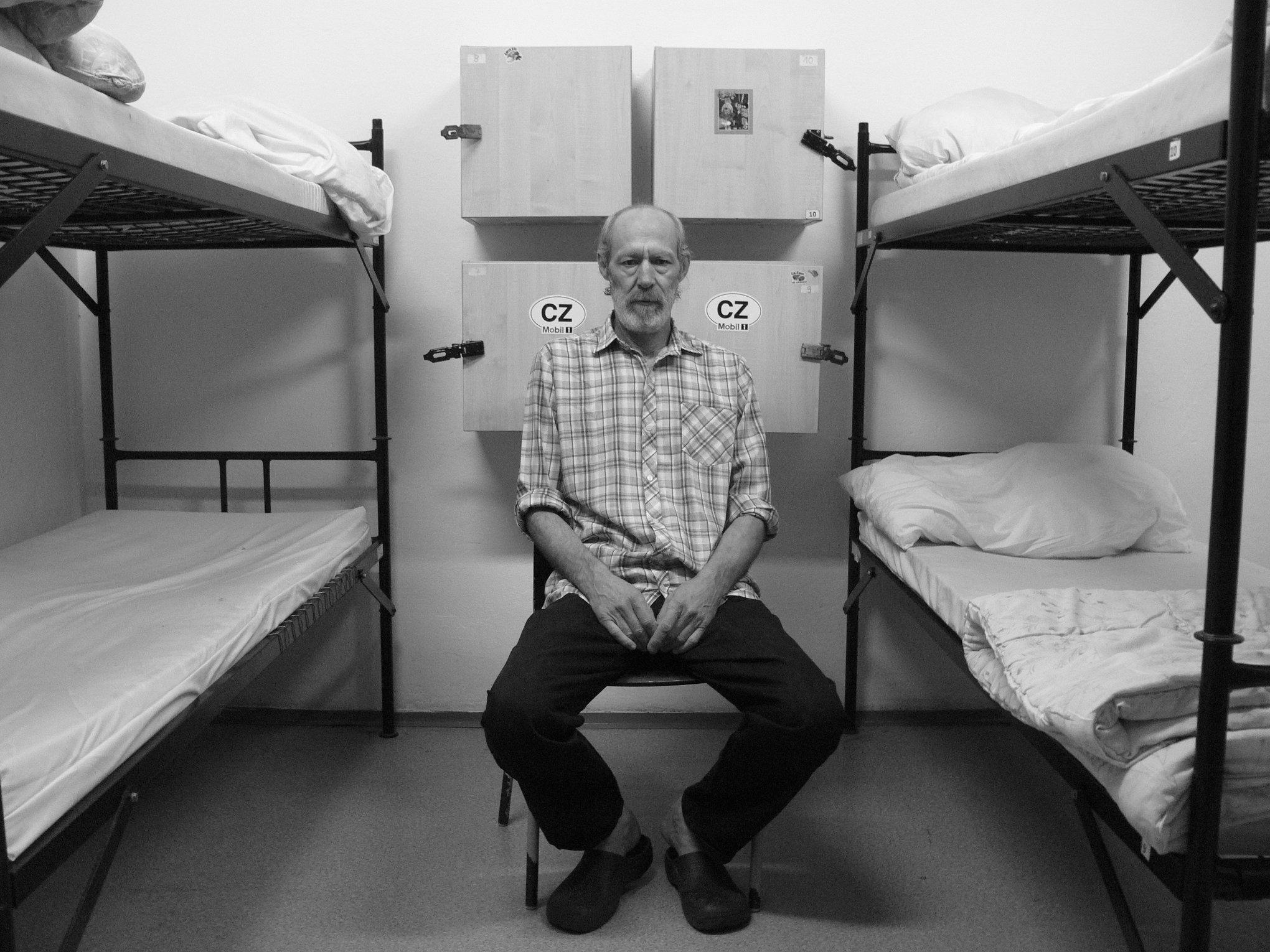 """Z výstavy """"Ještě jsem tady"""" fotografa Ondřeje Pokorného"""