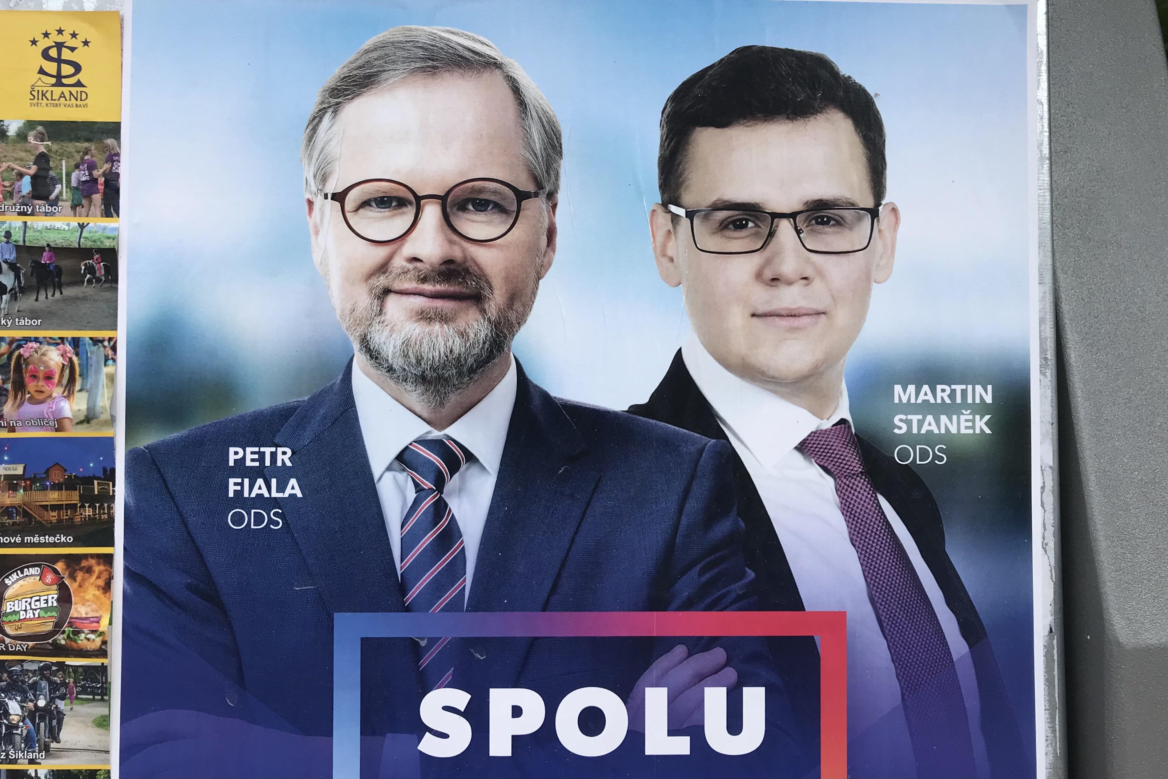 Na 28. místě kandidátky SPOLU se o přízeň voličů uchází student Martin Staněk z boskovické ODS