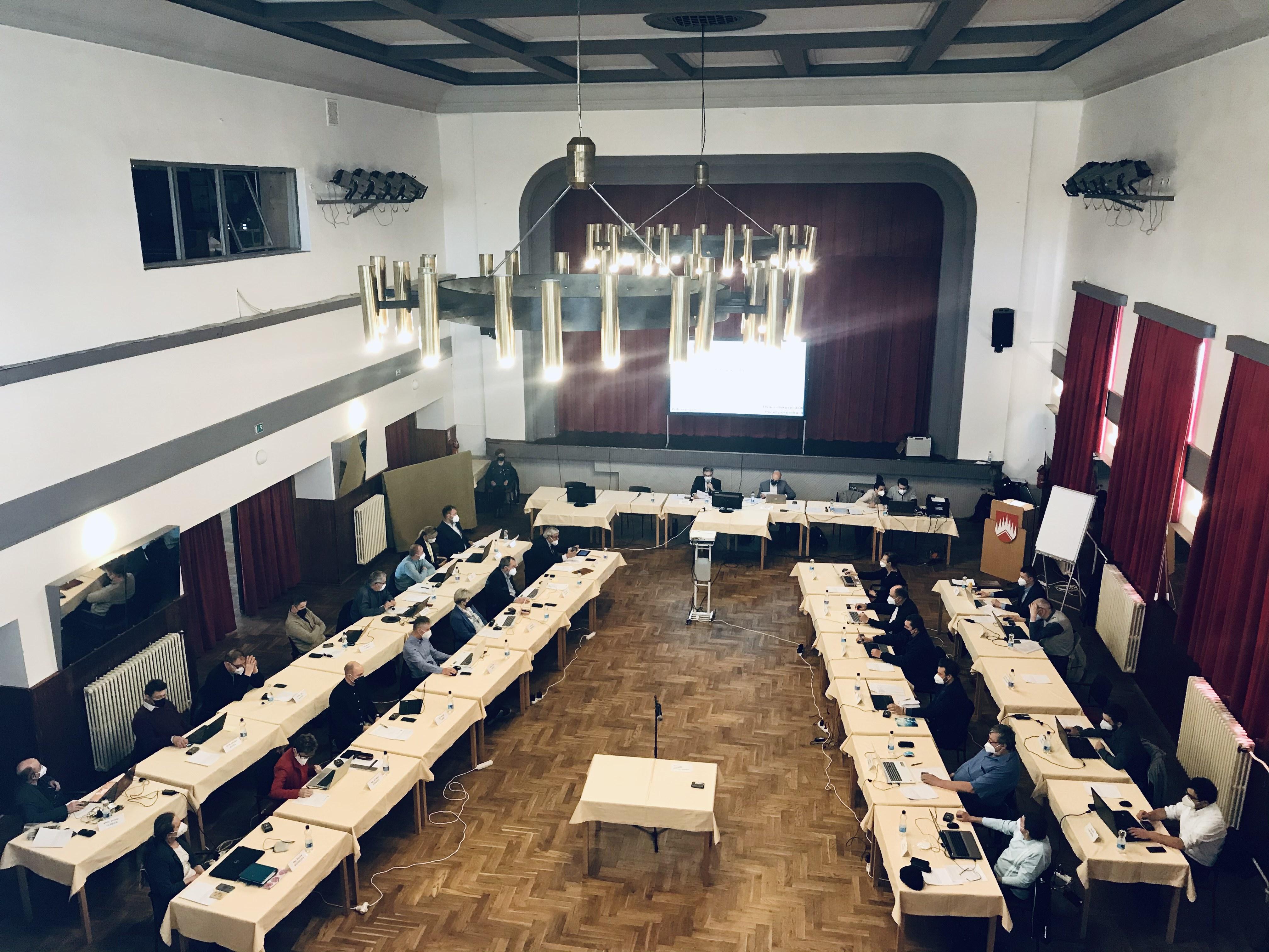 Dubnové zasedání zastupitelstva