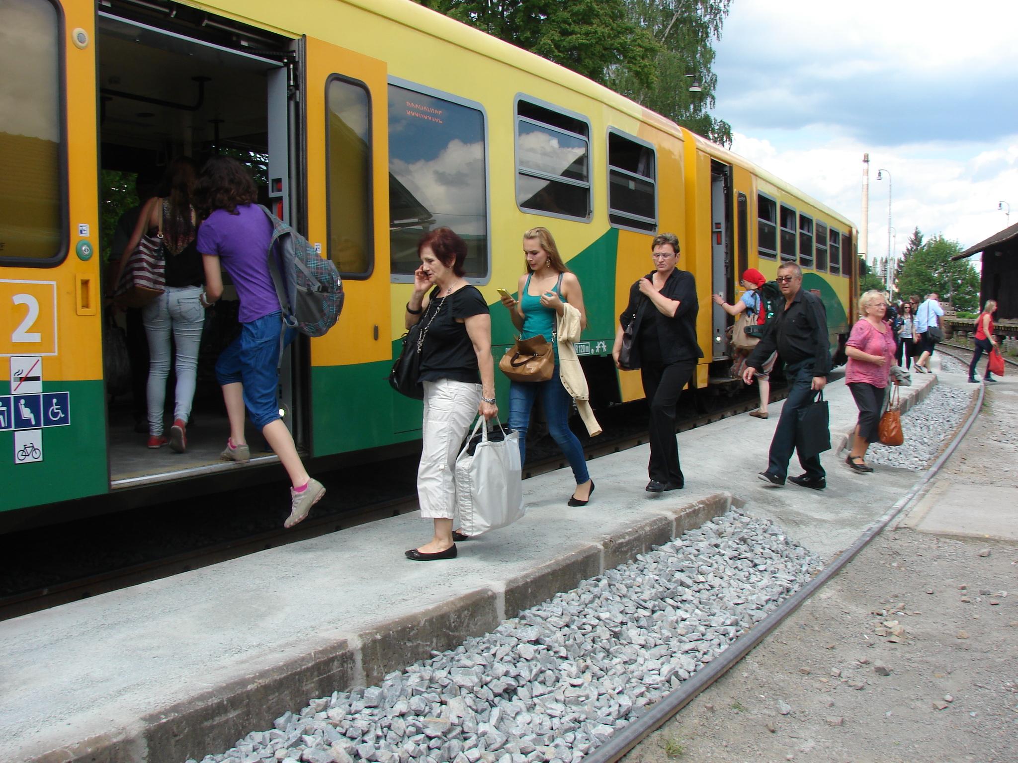 Boskovické vlakové nádraží, ilustrační foto
