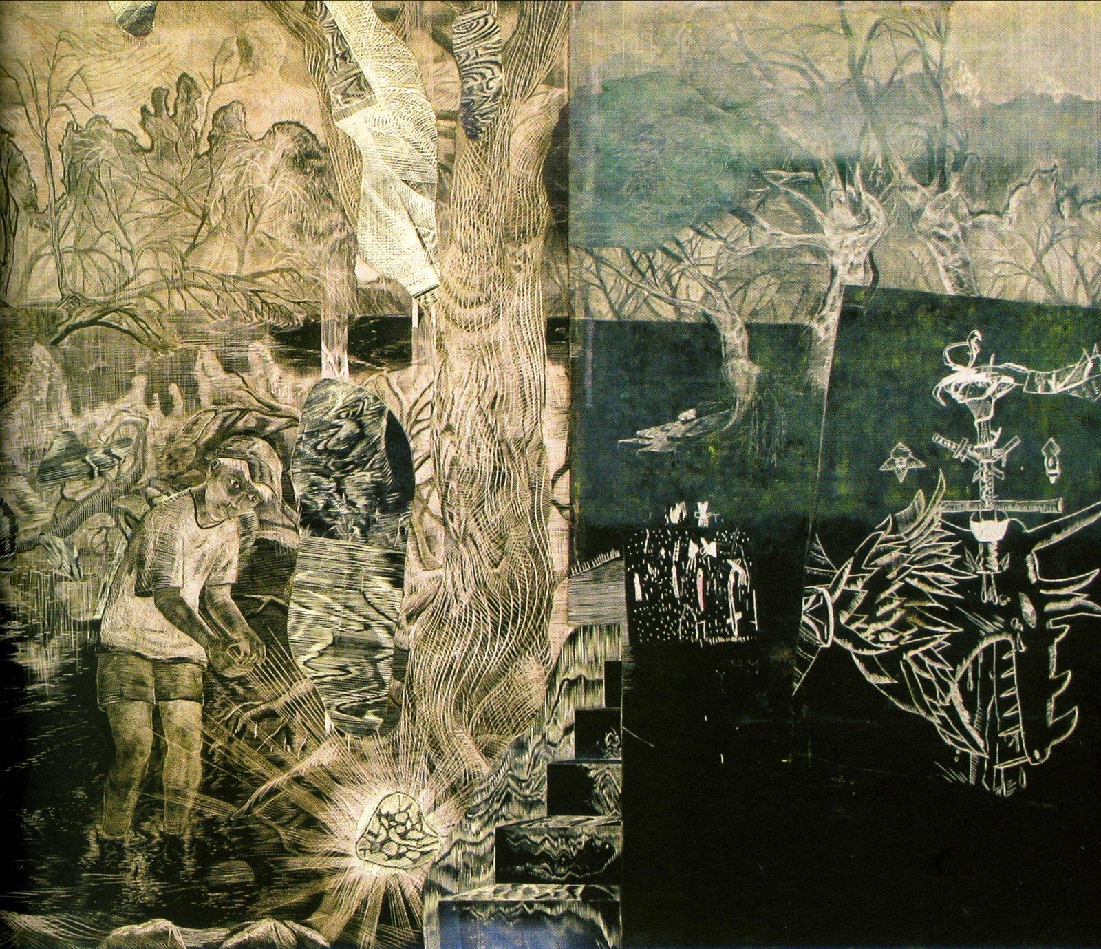 Nová výstava začne tento měsíc v Prostoru. Můžeme se těšit na Jana Vičara a jeho velkoformátové grafiky, jejichž vernisáž doplní výkladem o své tvorbě a technice.