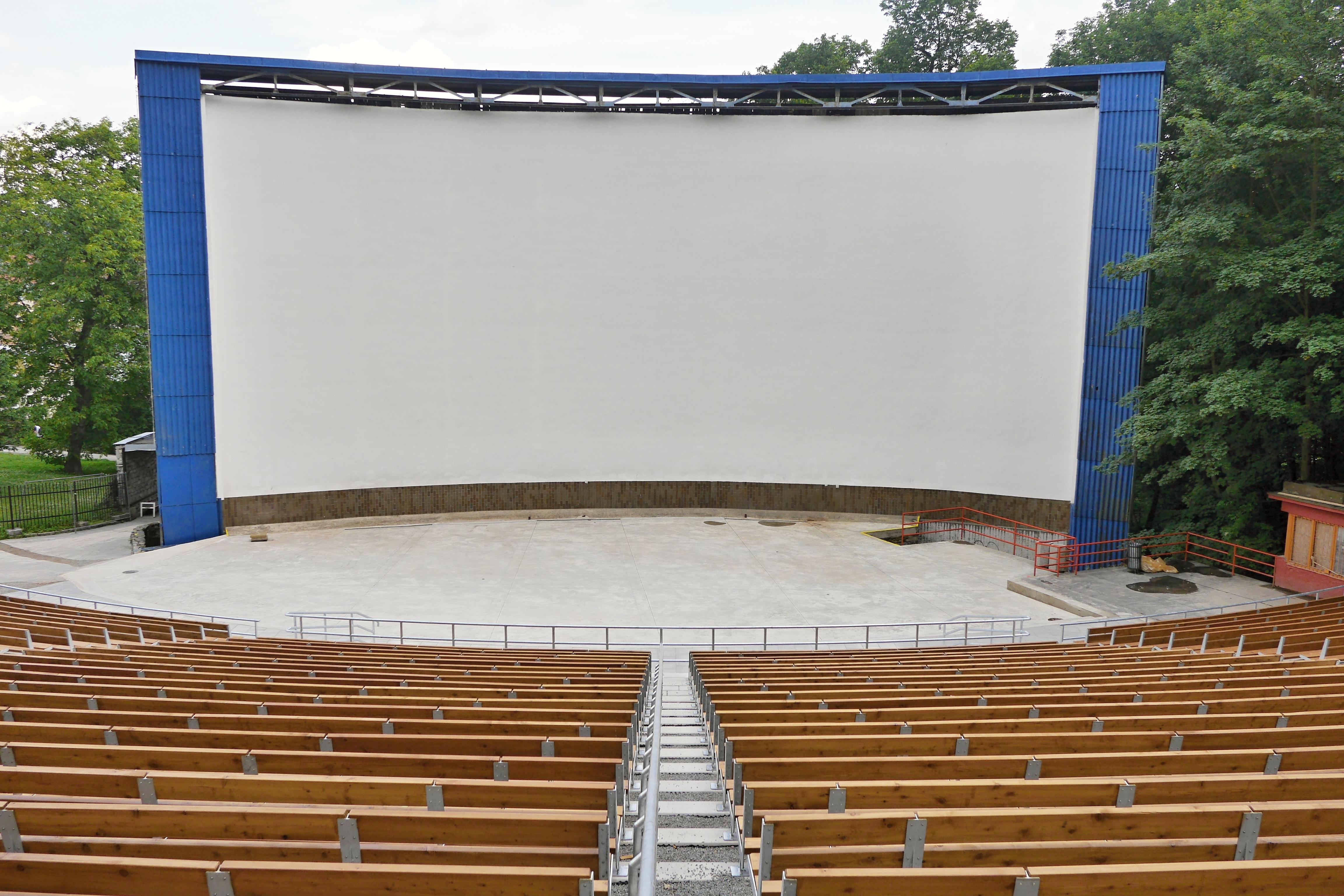 Boskovické letní kino prochází rekonstrukcí