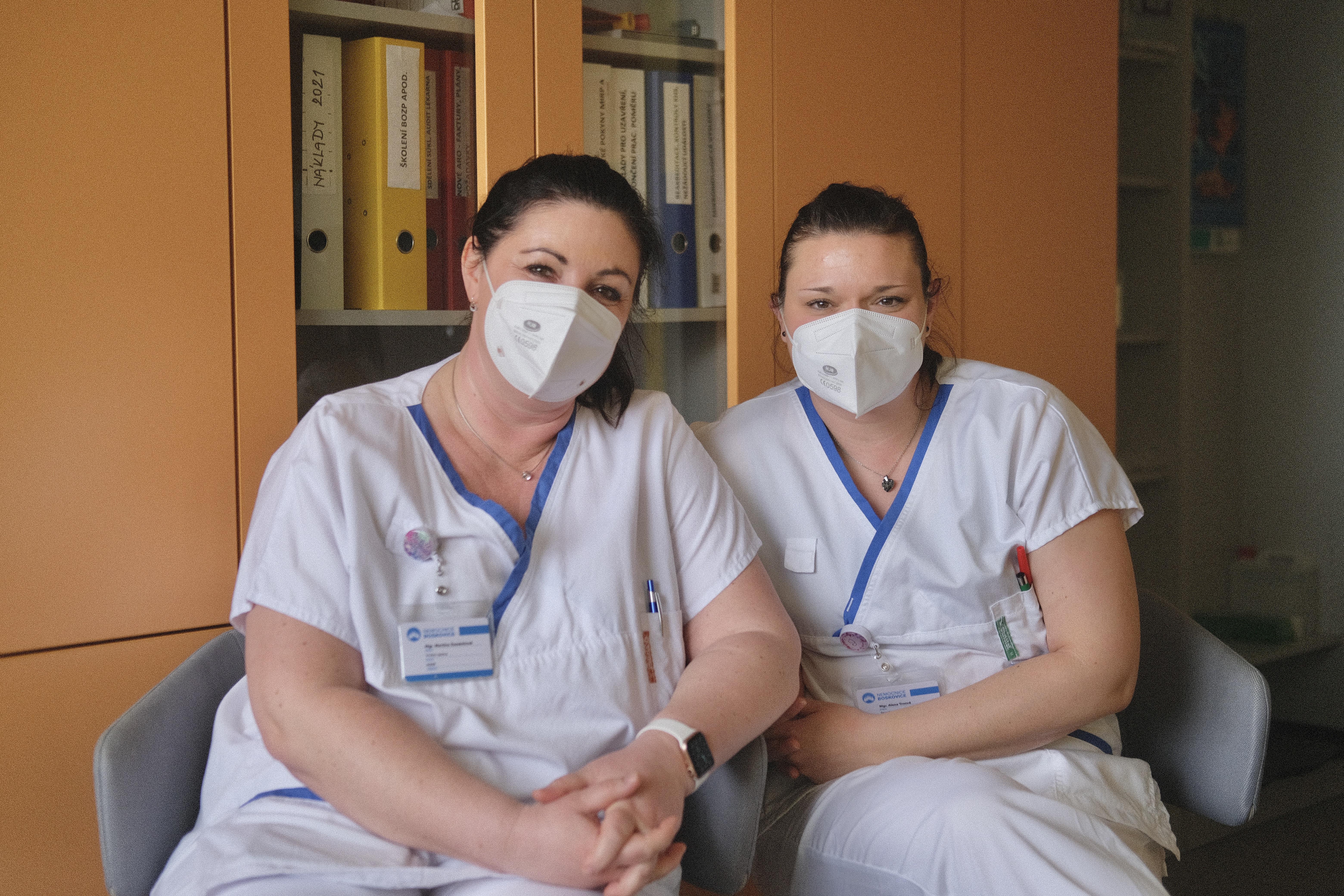 Martina Zemánková a Alena Trnová