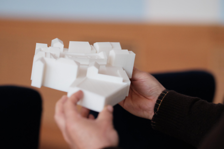 Model Koupadel vytisknutý na 3D tiskárně