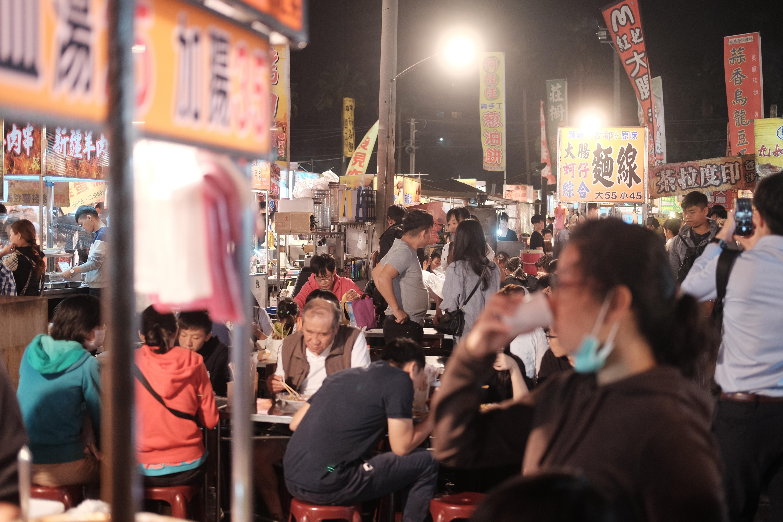 Večerní trh v Tainanu, 2018