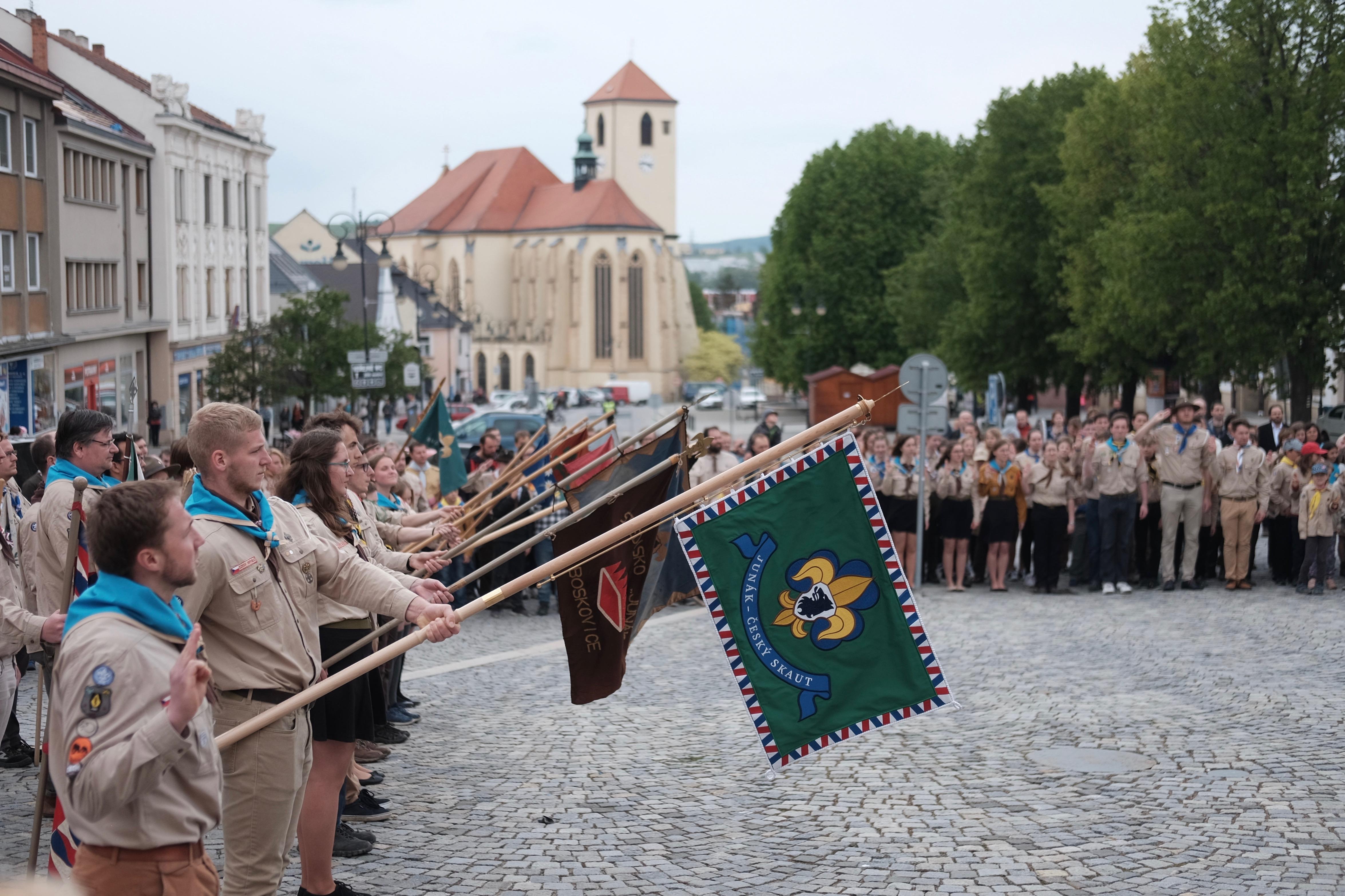 Oslava 100 let skautingu v Boskovicích
