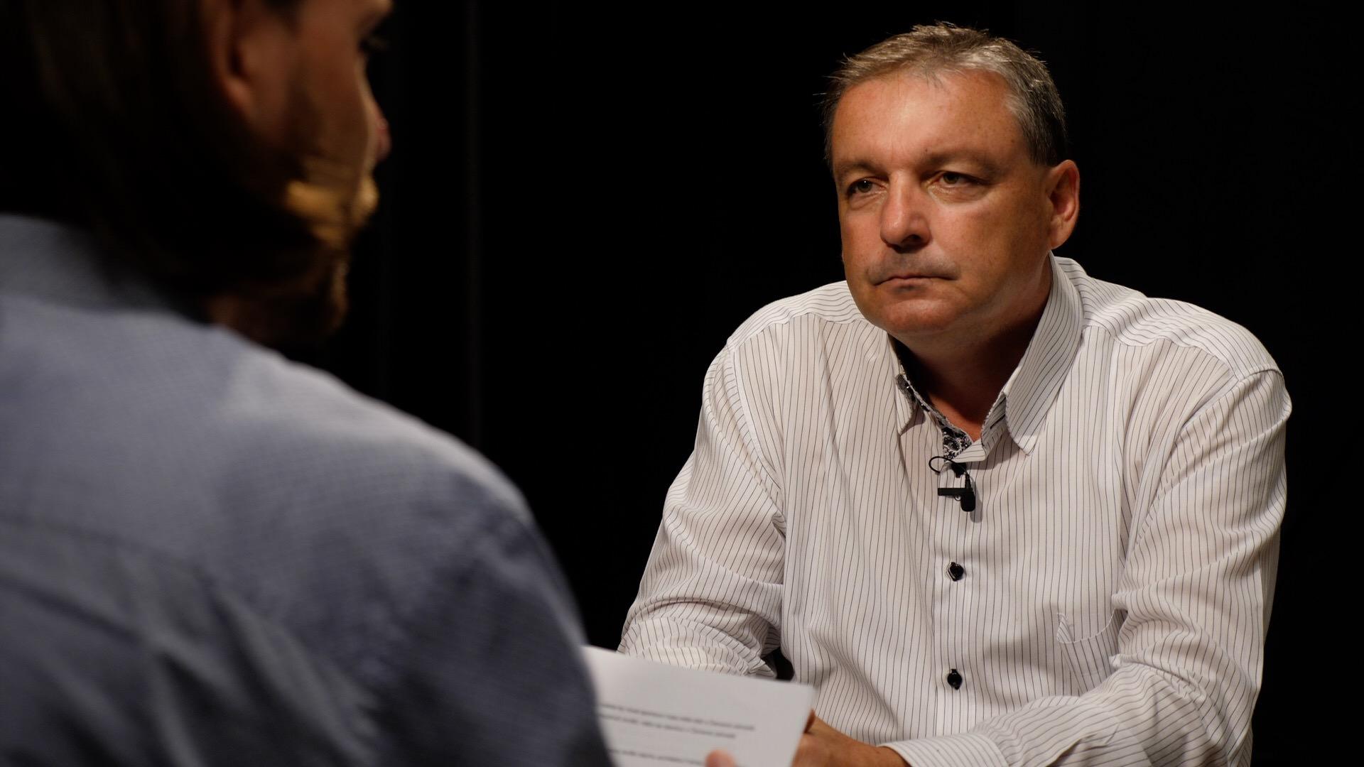 Snímek zpředvolebního rozhovoru